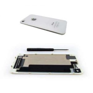 iPhone 4 Back Replacement Glass White
