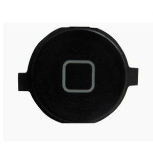 iPhone 4 Home Button Cap Only Black