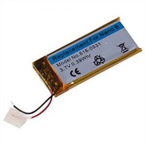 iPod Nano 6th Rechargeable battery