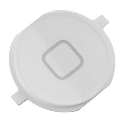 iPhone 4 Home Button Cap Only White