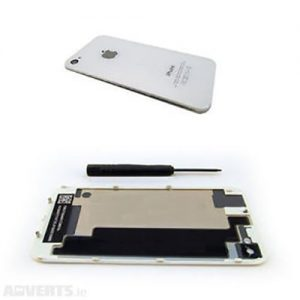 iPhone 4s Back Replacement Glass White