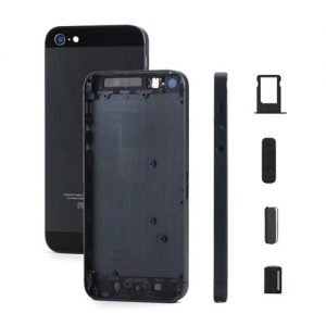 iPhone 5 Back Metal Housing Grey Black