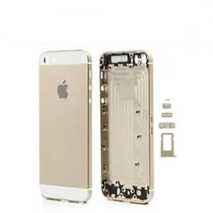 iPhone 5S Back Metal Housing Gold White