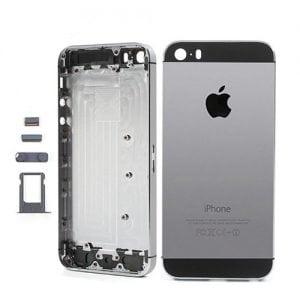 iPhone 5S Back Metal Housing Grey Black