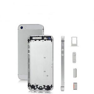 iPhone 5S Back Metal Housing Silver White