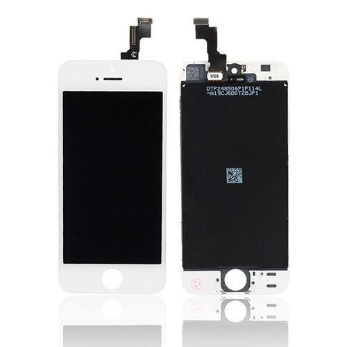 iPhone 5S: LCD + Touch Screen Digitzer – White