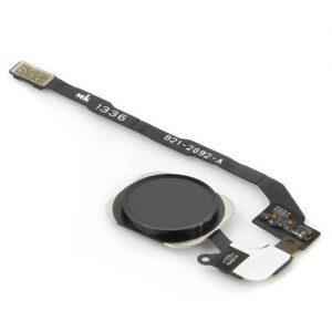 iPhone 5S Silver Black Home Menu Button
