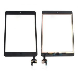 iPad Mini Digitizer Screen Assembly + IC Black
