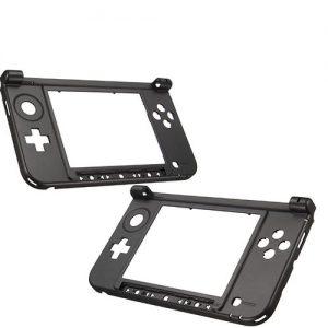 3DS XL Bottom Middle Frame Black