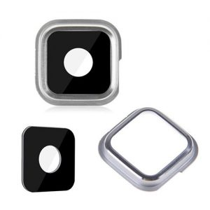Samsung S5 Replacement Rear Camera Glass Lens Ring Silver