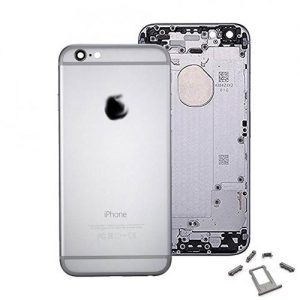 New Replacement Metal Back Housing Cover Case for iPhone 6 Silver