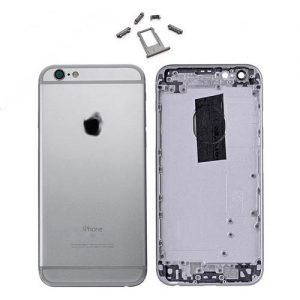 New Replacement Metal Back Housing Cover Case for iPhone 6 Space Grey