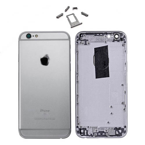 super popular 474d0 f47e8 iPhone 6 Back Metal Housing Space Grey