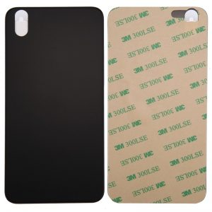 iPhone X Glass Battery Back Cover Replacement Black