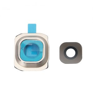 Samsung Galaxy S6 Camera Lens and Bezel Replacement - Gold
