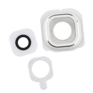 Samsung Galaxy S6 Camera Lens and Bezel Replacement - white
