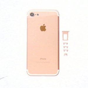 iPhone 7 Back Metal Housing Rose Gold