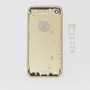 iPhone 7 Replacement Metal Back Housing Cover Case Gold