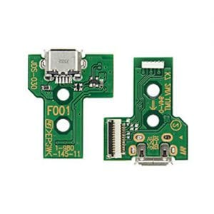 PS4 Controller Micro USB Charging Port Socket Circuit Board JDS-030 12 Pin
