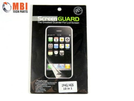 iPhone 4 Front Clear Screen Protector x 10
