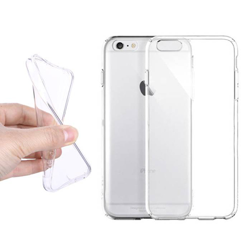 iPhone 6 6s Clear TPU Rubber Case 1