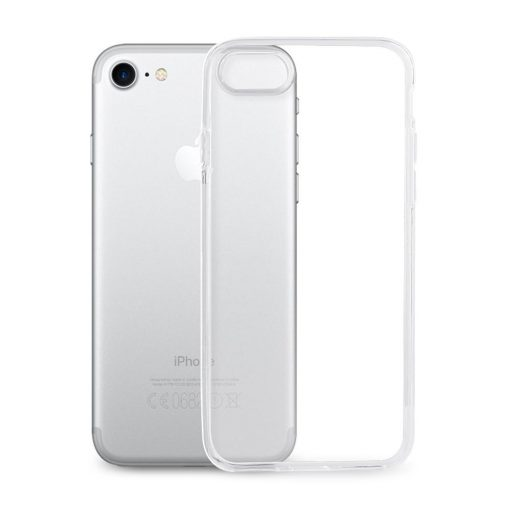 iPhone 7 8 Clear TPU Rubber Case