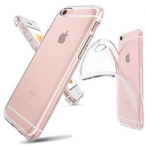 iPhone Soft Clear TPU Rubber Case back