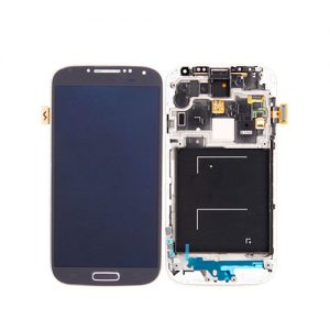 Samsung Galaxy S4 Screen Replacement LCD and Digitizer + Frame i9500 - Dark Blue