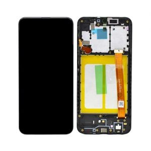SAMSUNG GALAXY A20E Touch Screen and LCD Display with frame GH82-20186A BLACK