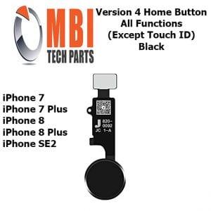 iPhone 7 7 Plus 8 8 Plus SE2 Home Button Rose Black