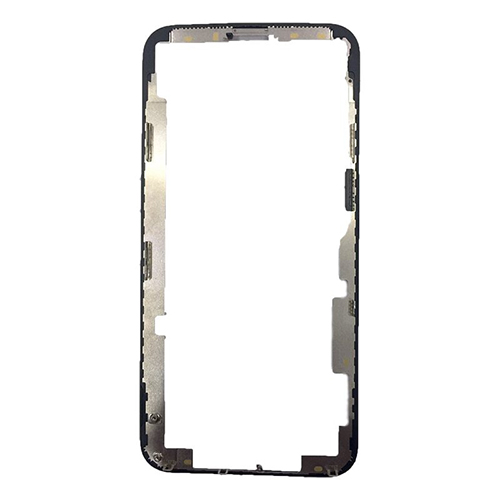 iPhone X Replacement Bezel Chassis Middle Frame for Touch Screen Digitizer Black