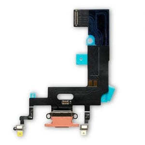 iPhone XR Charging Port Flex Cable Dock Connector Coral 6.1