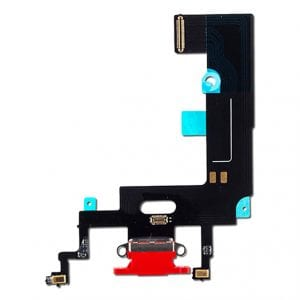iPhone XR Charging Port Flex Cable Dock Connector Red