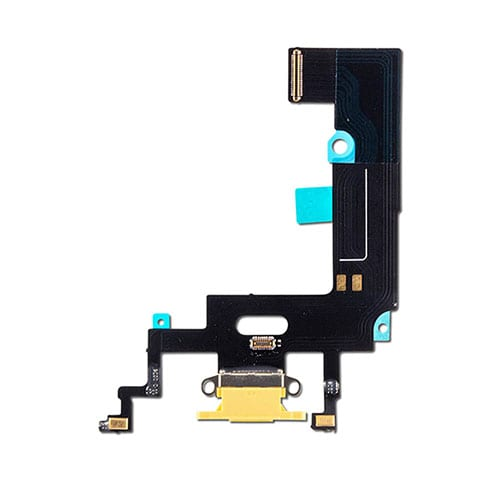 iPhone XR Charging Port Flex Cable Dock Connector Yellow