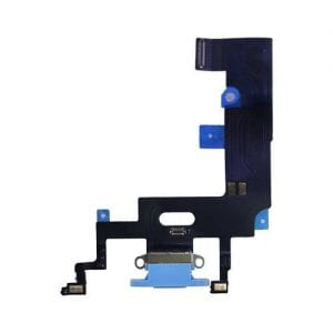 iPhone XR Charging Port Flex Cable Dock Connector blue 6.1