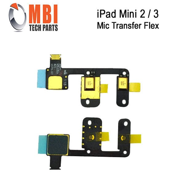 Lot of 3 New Mic Microphone Flex Cable Ribbon Part For iPad 3 3rd Gen 4 4th Gen
