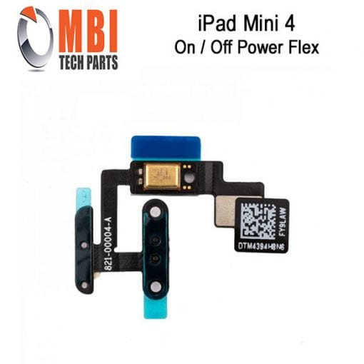 iPad Mini 4 Replacement Power Volume Mic Flex Cable