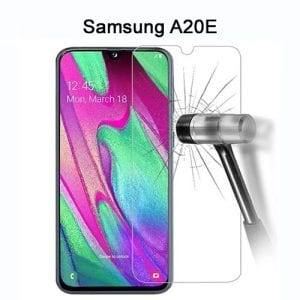 Samsung Galaxy A20E Tempered Protective Protector Glass