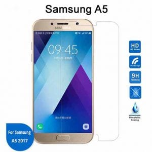 Samsung Galaxy A5 Tempered Protective Protector Glass W