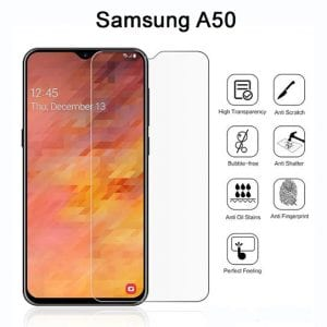 Samsung Galaxy A50 Tempered Protective Protector Glass