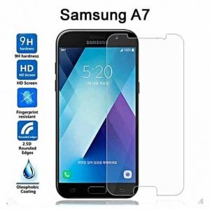 Samsung Galaxy A7 Tempered Protective Protector Glass