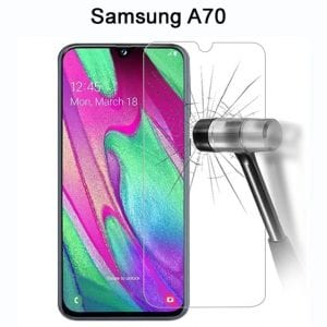 Samsung Galaxy A70 Tempered Protective Protector Glass