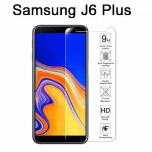 Samsung Galaxy J4 J6 Plus Tempered Protective Protector Glass W2