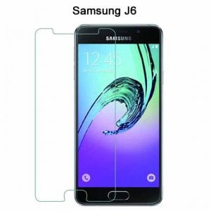Samsung Galaxy J4 Tempered Protective Protector Glass W