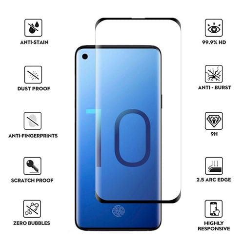 Samsung Galaxy S10 Tempered Protective Protector Glass
