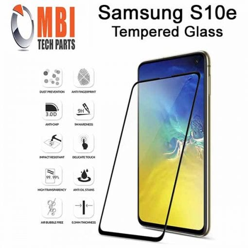 Samsung Galaxy S10e Tempered Protective Protector Glass W