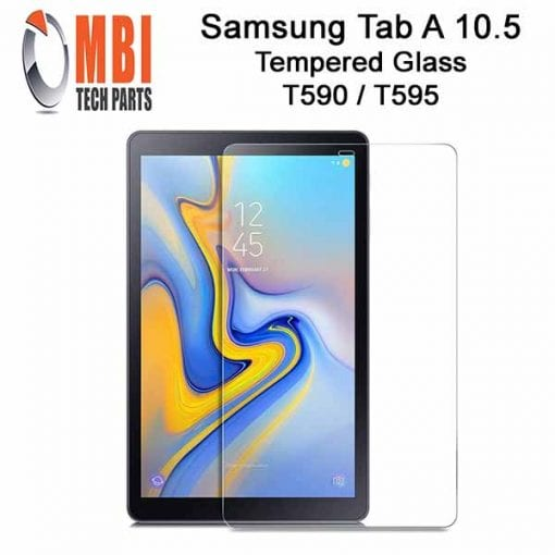 Samsung Galaxy TAB A 10.5 Tempered Protective Glass SM-T590 SM-T595 2018 W