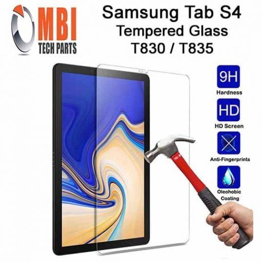 Samsung Galaxy TAB S4 10.5 Tempered Protective Glass SM-T830 SM-835 E