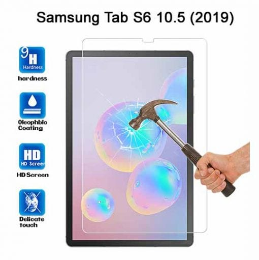 Samsung Galaxy TAB S6 10.5 Tempered Protective Glass SM-T860 SM-865 W