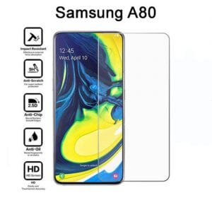Samsung Galaxy A80 Tempered Protective Glass Protector